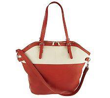 "As Is"" Kelsi Dagger Julie Colorblock Convertible Tote"