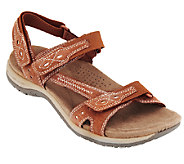 Earth Origins Suede Sandals w/ Adj. Straps - Barkley - A251468