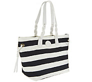 Dooney & Bourke Nylon Striped Shopper - A252268