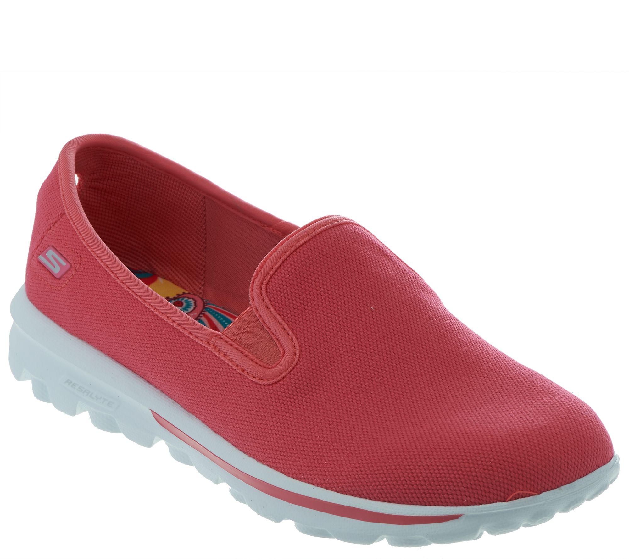 Skechers GOwalk Canvas Slip-on Sneakers