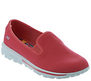 Skechers GOwalk Canvas Slip-on Sneakers - Cadence - A252368