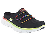 Skechers Synergy Mesh & Bungee Mules w/ Memory Foam - Free Play - A253168