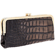 G.I.L.I. Leather Exotic Clutch Wallet - A261868