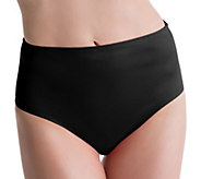 Spanx Solid Mid-Waisted Swimsuit Bottom - A263568