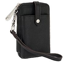 As Is Aimee Kestenberg Nicole Leather Phone Wristlet