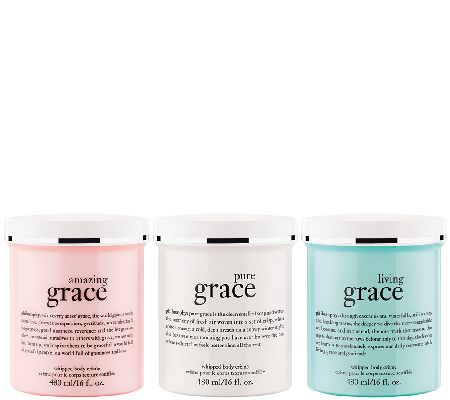 philosophy supersize grace whipped body creme trio