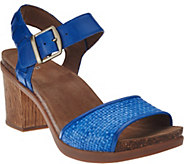Dansko Leather Sandals with Adj. Ankle Strap - Debby - A274368