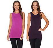 skinnytees High Scoop Seamless Layering Tank Set - A277968