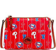 Dooney & Bourke MLB Nylon Phillies Crossbody Pouchette - A281568