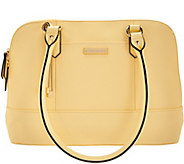 As Is Tignanello Saffiano Leather RFID Dome Satchel - A283368