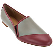 As Is LOGO by Lori Goldstein Asymmetric Color Block Flats - A284068