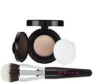 Mally Flawless Finish Transforming Foundation w/ Brush - A285168
