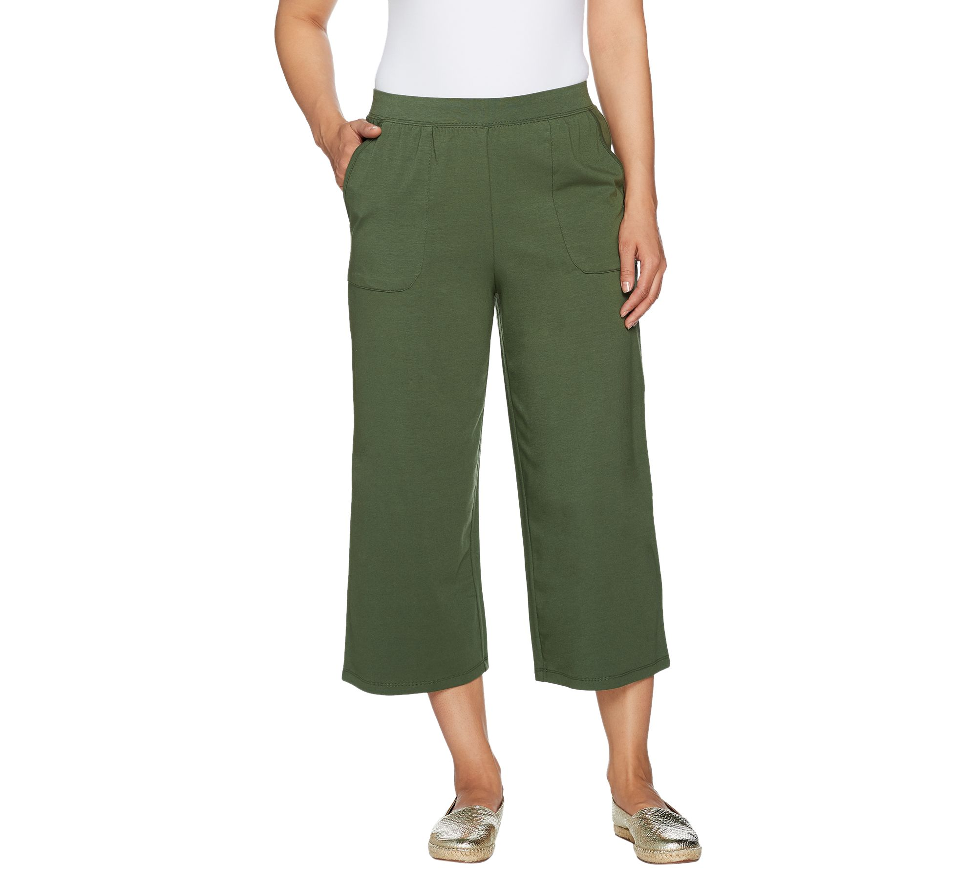 Also, choose slim leg cropped pants/capris as a wider capris will only emphasize skinny legs.I have a girlfriend with skinny legs who only wore maxis for years. She recently started wearing cropped pants like I mentioned and she looks great.