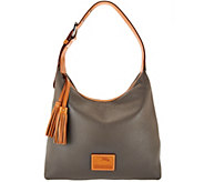 As Is Dooney & Bourke Patterson Pebble Leather Hobo - Paige - A296368