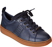 Earth Leather Lace-up Sneakers - Zag - A298768