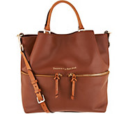 Dooney & Bourke City Smooth Leather Large Dawson Satchel - A298968