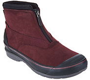 Clarks Waterproof Leather Zip Front Boots - Muckers Hike - A300068
