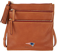 Dooney & Bourke NFL Florentine Triple Zip Crossbody Handbag - A300968