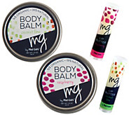 Mad Gabs Raspberry & Coconut Lime Body Balms Gift Set - A355568