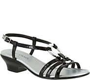 Easy Street Patent Slingback Sandals - Selena - A356968