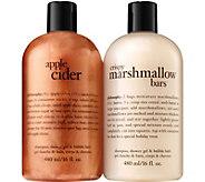philosophy fall favorites shampoo, shower gel &bath duo - A362168