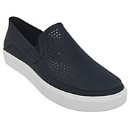Crocs Mens Slip-On Sneakers - Citi Lane Roka - A412368