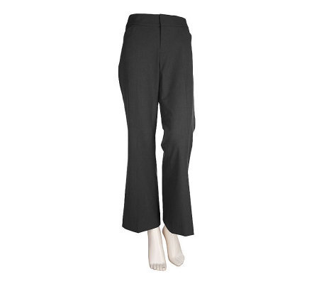 Dialogue Essentials 2-way Stretch Regular Length Bootcut Pants