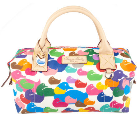Dooney & Bourke Signature Coated Wonder Duck Small Duffel