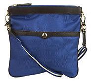 JPK Paris75 SignatureFabric Crossbody Bag with Adjustable Strap - A224269