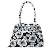 As Is Vera Bradley  Signat ure Cotton Bowler Handbag - A226969