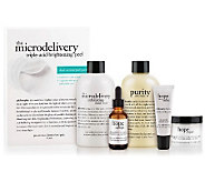 philosophy makeup optional & brighten skin care 6 pc. collection - A235069