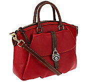Dooney & Bourke Samba Leather Large Satchel - A255169