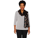 Joan Rivers Enchanted Nights Sequin Scarf - A259369