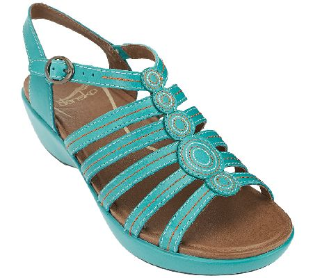 Dansko Multi Strap Sandals with Adjustable Strap - Drea