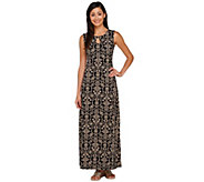 Liz Claiborne New York Regular Printed Maxi Dress - A266169