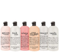 philosophy 6pc super-size shower gel collection