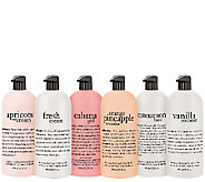 philosophy supersize miracles 6pc shower gel collection - A271269