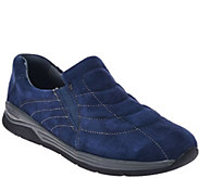 As Is Earth Suede Water Resistant Slip-on Shoes - Journey - A280369