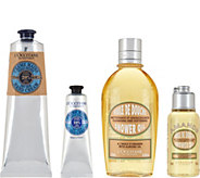 LOccitane Shea & Almond Home & Away 4-piece Set Auto-Delivery - A289569