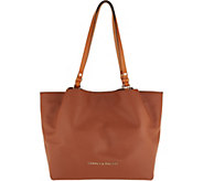 Dooney & Bourke City Smooth Leather Large Shoulder Bag- Flynn - A298969