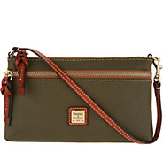 Dooney & Bourke Pebble Leather Zip Top Wristlet - A303769