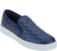 As Is Isaac Mizrahi Live! SOHO Quilted Slip-On Sneakers - A311069