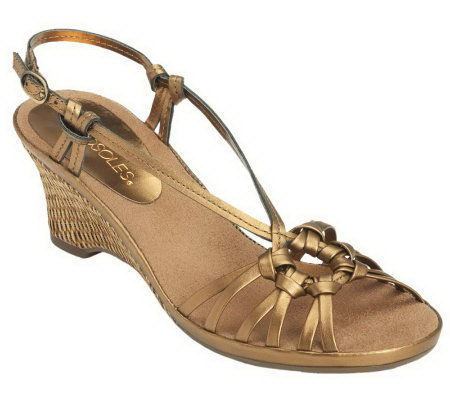 Aerosoles Frozen Yogurt Sandal Wedges