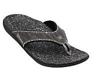 Spenco Mens Yumi Canvas Thong Sandals - A330869