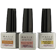 Mally 24/7 Gel Polish Pure Paradise Trio - A333669