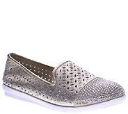 Spring Step Leather Slip-Ons - Azul - A336769