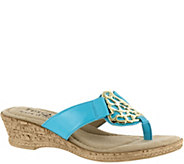 Tuscany by Easy Street Wedge Sandals - Rossano - A339069
