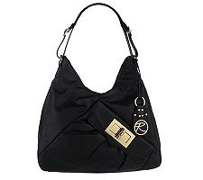 Roccatella Glove Leather Betsy Hobo with Front Turnlock Pocket