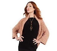 Layers by Lizden Ribbon Yarn Shrug - A217170