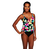 DreamShaper by Miraclesuit Morgan Two Tier Ruffle 1-Piece - A232870